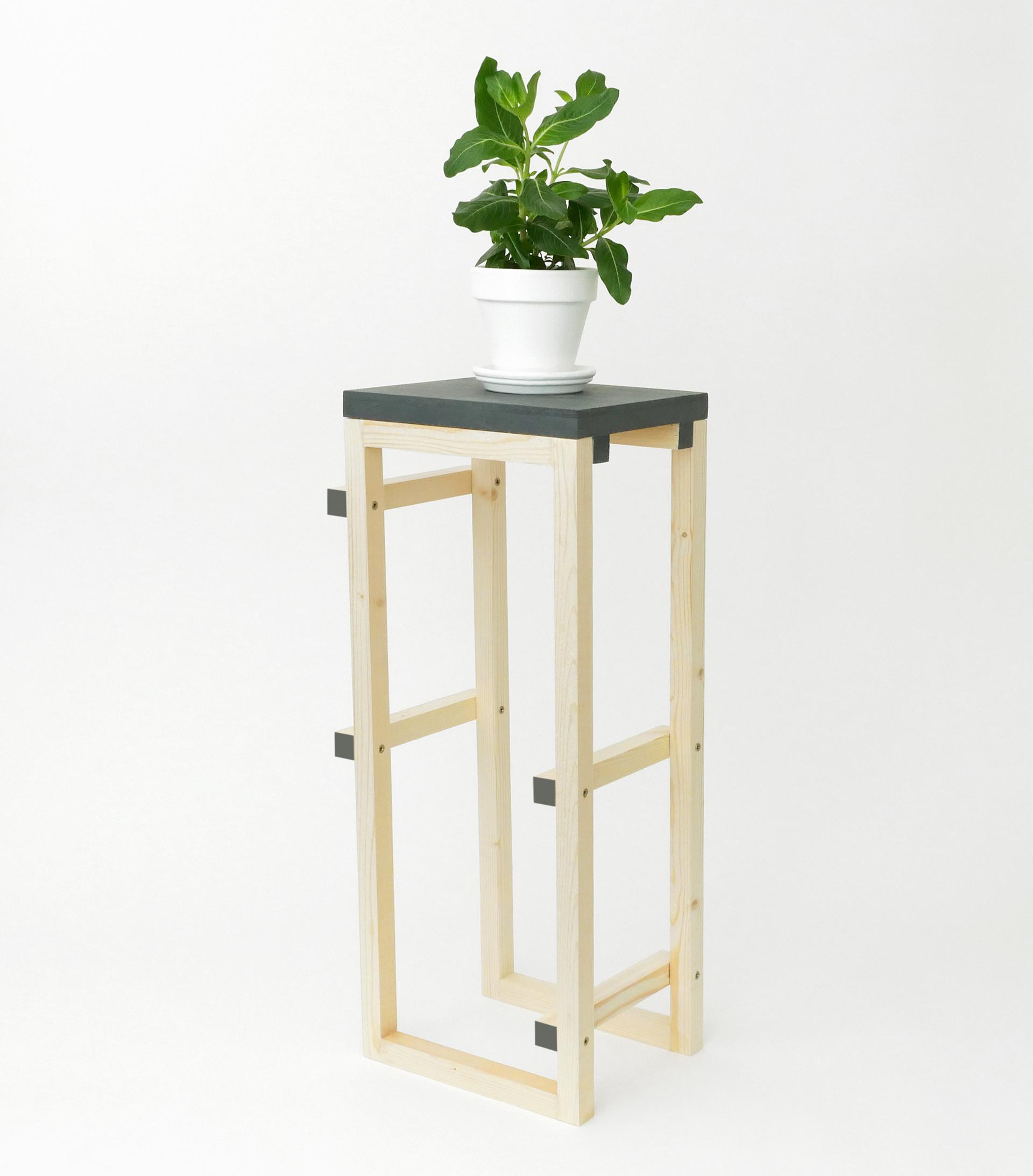 meuble plantes paris design week pierre lota. Black Bedroom Furniture Sets. Home Design Ideas